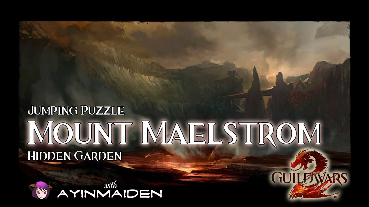 Guild Wars 2 Jumping Puzzle Mount Maelstrom Hidden Garden Youtube