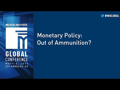Monetary Policy: Out of Ammunition?