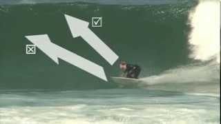 Bottom Turn (regular foot). From 110% Surfing Techniques Volume 2 DVD.