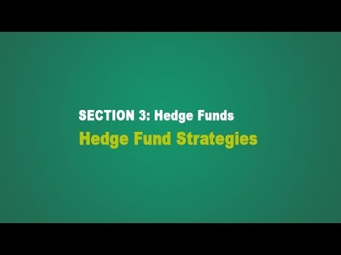 Hedge Funds -  Strategies