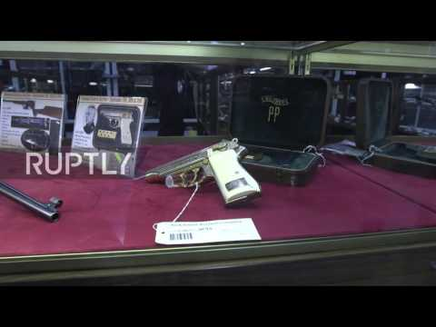 USA: Pistols of Nazi leaders Himmler and Goering up for auction in Rock Island