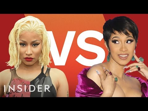 Why Cardi B And Nicki Minaj Are Fighting