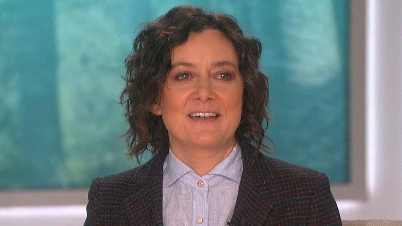 why did sara gilbert leave the talk
