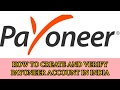 HOW TO CREATE PAYONEER ACCOUNT IN INDIA ( 15-02-17 )