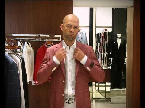 модные галстуки и мужские костюмы