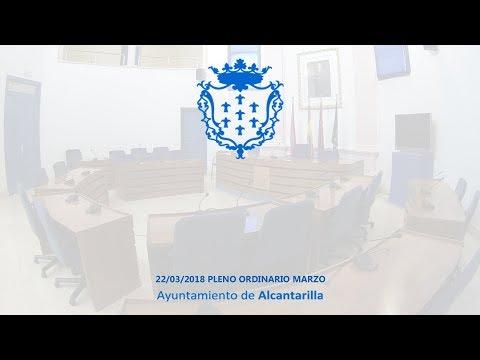 22/03/2018 Pleno Ordinario Marzo