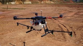 Download lagu Giant Agricultural Spray Drone Maiden Flight Testing MP3