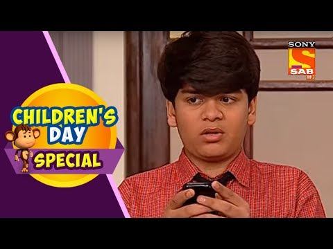 Children's Day Special | Mobile Phone Addiction | Taarak Mehta Ka Oolta Chashmah