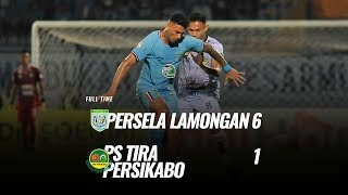[Pekan 16] Cuplikan Pertandingan Persela Lamongan vs PS Tira Persikabo, 25 Agustus 2019