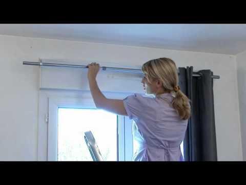 Ridorail ib barra de cortinas para caja de persiana for Sistemas para colgar cortinas