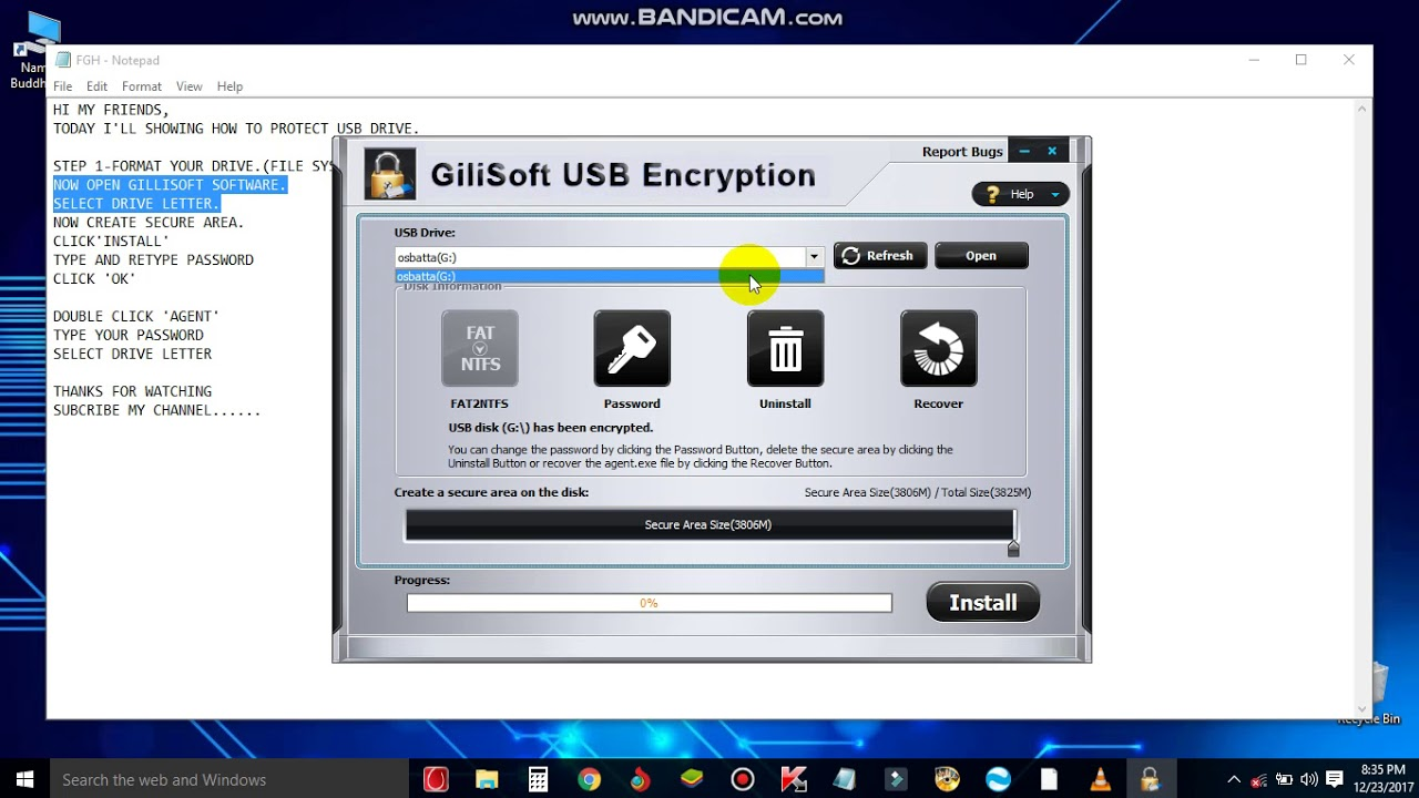 gilisoft usb stick encryption 6