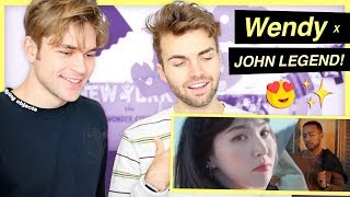 "Red Velvet's Wendy x John Legend!!! ""Written in the Stars"" Reaction! (Chrissy Teigen is shaking) mp3"