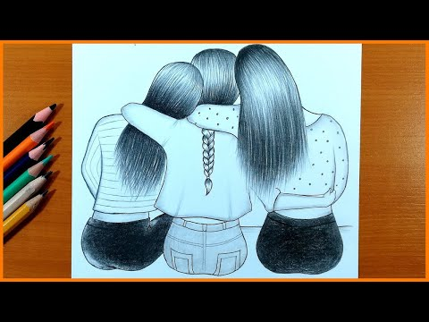 Best Friends How To Draw 3