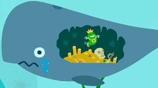 Baby Sago Mini Ocean Swimmer Малыши САГО МИНИ ОКЕАН Развивающие мультики для малышей Игры для детей