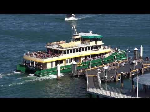 Sydney Ferries 21/1/2018
