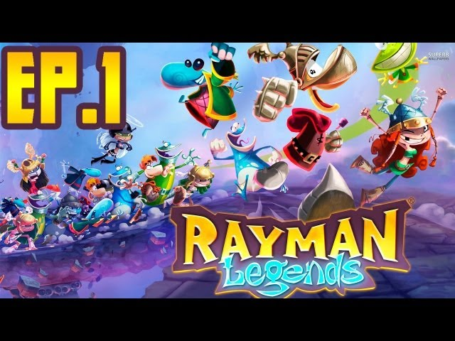 RAYMAN LEGENDS | EP.1 | Travel Video