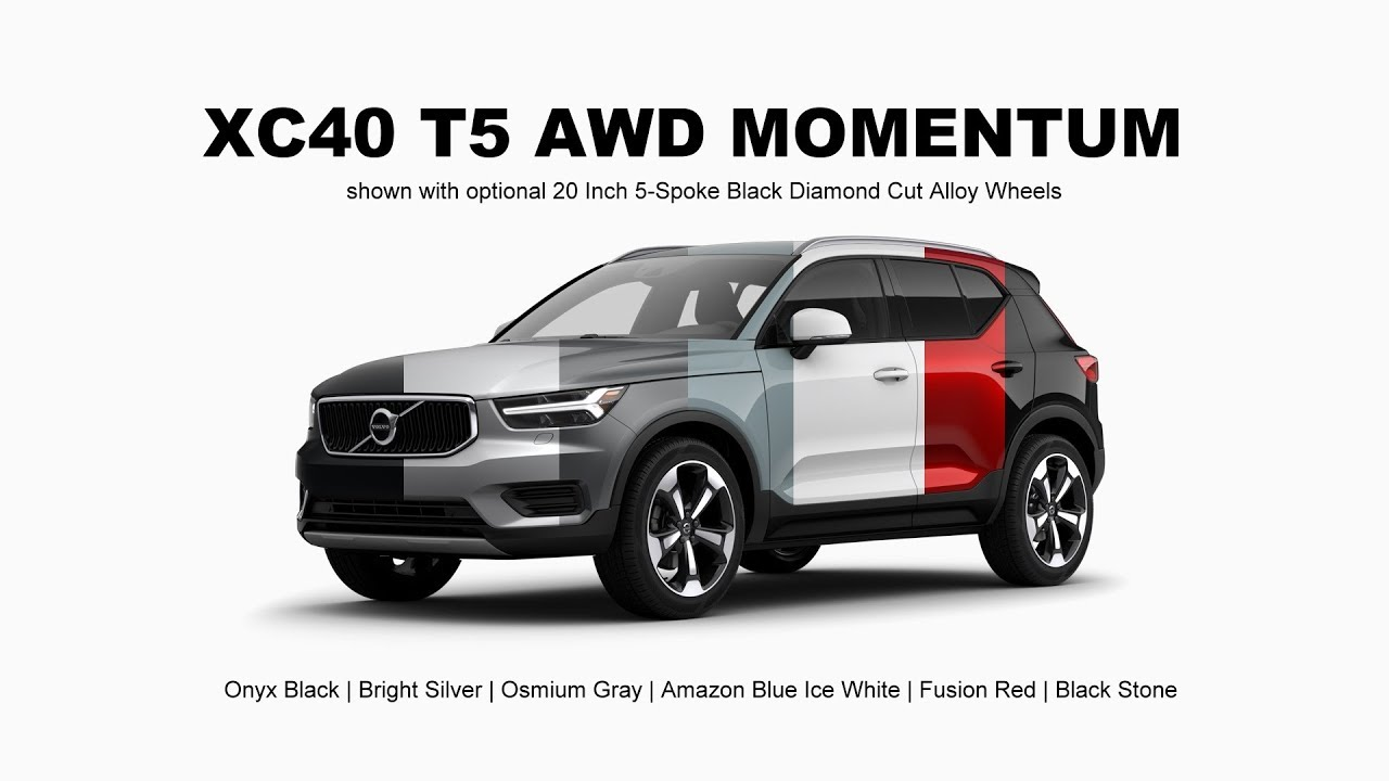 Xc40 T5 Awd Momentum Exterior Colors