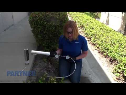 Soil Gas Sampling With Summa Canisters & Mobile Lab -- Partner Engineering