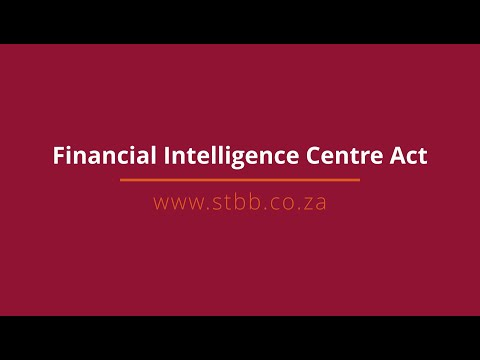 Financial Intelligence Centre Act
