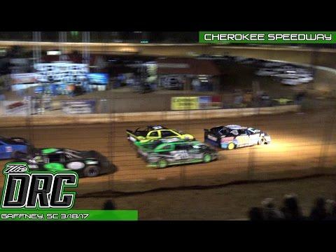 Cherokee Speedway | 3.18.17 | Stock 4 | Feature