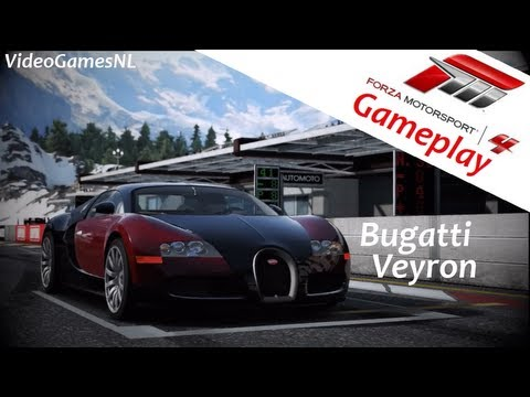 forza motorsport 4 bugatti veyron 16 4 autovista gameplay jeremy clarkson xbox 360 hd. Black Bedroom Furniture Sets. Home Design Ideas