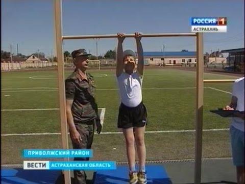 Будущие кадеты казачьего корпуса сдают вступительные экзамены