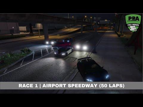[PRA] GTAV Pro League | Race 1: Airport Speedway (50 Laps)