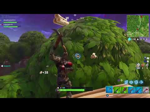 CRAZY BUILDING LANDS A VICTORY ROYALE MUST WATCH !!!!