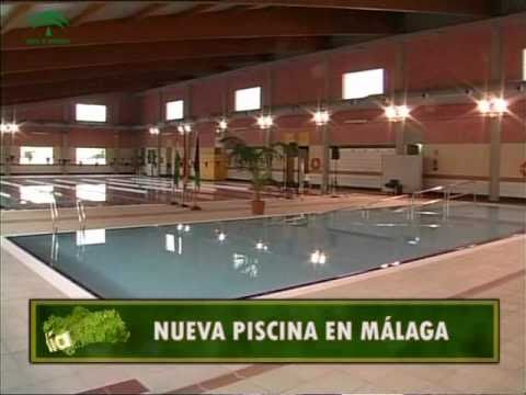 Nueva piscina en m laga youtube for Piscina cubierta malaga