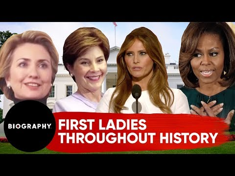 First Ladies Throughout History | Biography