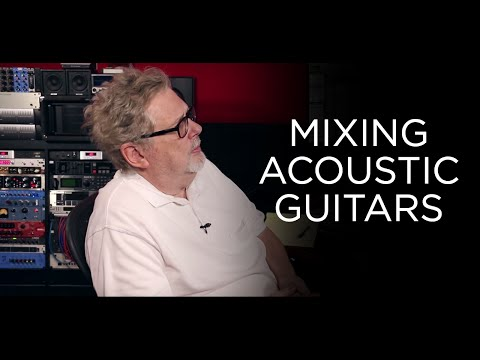 Mixing Acoustic Guitars – Into The Lair #140