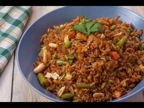 طريقة عمل ارز على الطريقة الصينية بطريقة سهلة وطعم مميز - ELWASFA