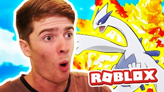 LUGIA! / Pokemon Legends / Roblox Adventures