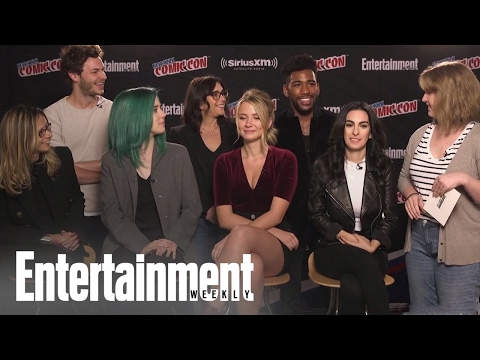 Sweet/Vicious: Cast & EPs On How The Series Developed & The Characters | Entertainment Weekly