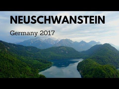 Beautiful Castles in Germany | Travel to Neuschwanstein | Summer 2017 | 4K