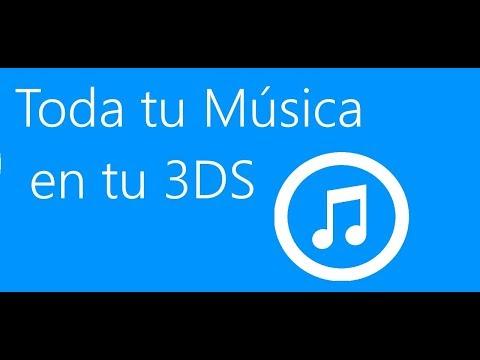 Como pasar tu música a tu consola 3DS o 2DS