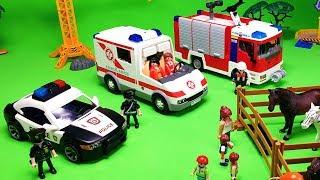 Пожарная машина Скорая помощь Полицейский автомобиль. Случай на Ярмарке. ТаТаШоу