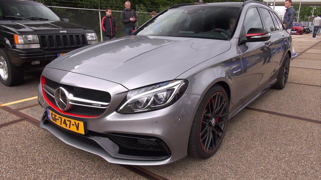 Mercedes Amg C63 S Estate Edition 1 Loud Revs Youtube