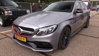 Mercedes-AMG C63 S Estate Edition 1 - Loud Revs!