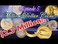 Million Dollar Coins Part 5 : The World's Most Rare and Valauable Coins Worth Millions