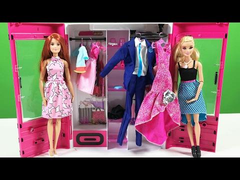 Barbie YENİ Gardırop oyuncak - Evcilik TV