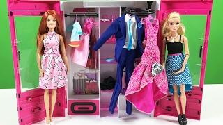 Video Barbie YENİ Gardırop oyuncak - Evcilik TV download MP3, 3GP, MP4, WEBM, AVI, FLV November 2017