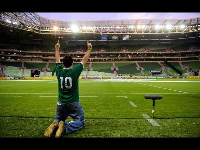 Mauro Beting faz homenagem EMOCIONANTE ao Allianz Parque!