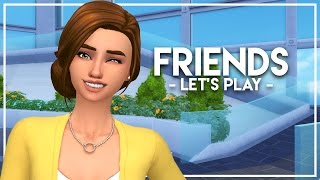 CITY LIVING! // The Sims 4: Friends #1