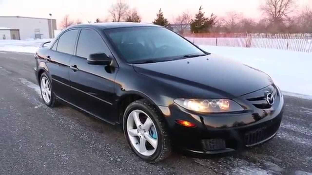 2008 mazda mazda6 i touring for sale auto spoiler alloys leather moon bose youtube. Black Bedroom Furniture Sets. Home Design Ideas