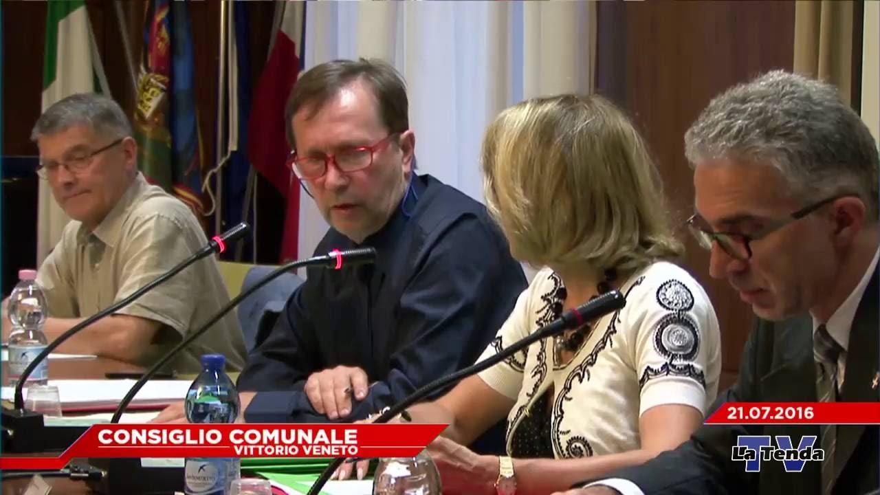 CONSIGLIO COMUNALE VITTORIO VENETO - Seduta del 21.07.2016