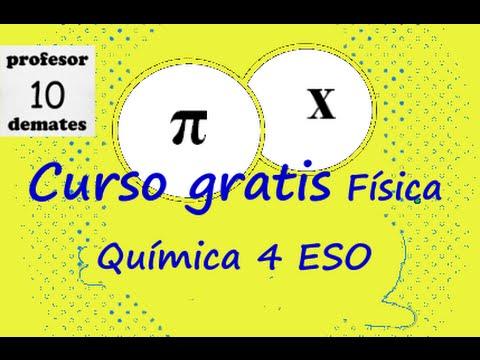 CURSO GRATUITO Física y química 4 ESO - YouTube