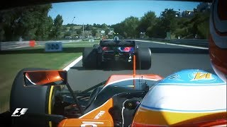 Alonso And Sainz In Epic Battle | 2017 Hungarian Grand Prix