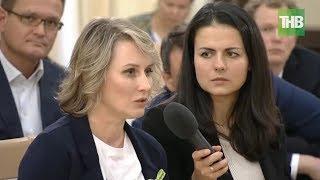 Основательница сети кафе «АндерсСон» Анастасия Татулова расплакалась на встрече с Путиным | ТНВ