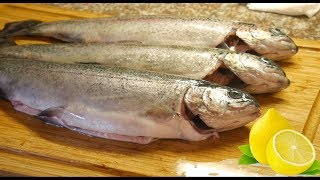 Catch and Cook Trout with Lemon!!